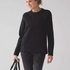 Lululemon black sweatshirt NWT